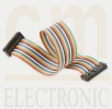 Rainbow IDC Flat Cable