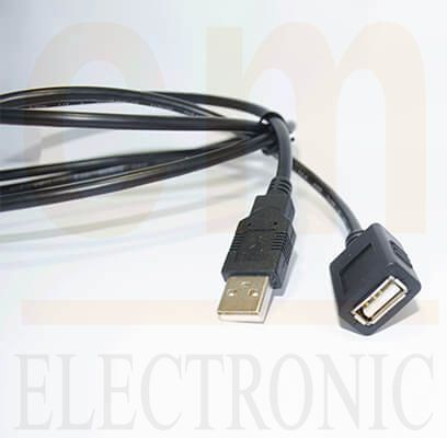 USB (Type A Male/ Type A Female)
