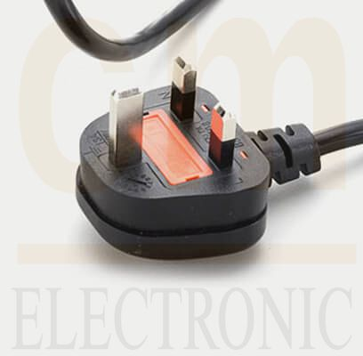 UK Cord With Fuse (Type G)