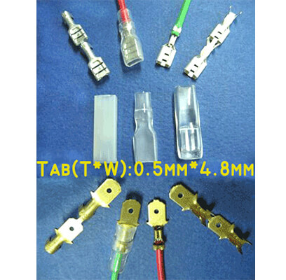 Faston Series (Tab:0.5mm*4.8mm)