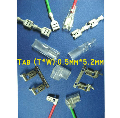 Faston Series (Tab:0.5mm*5.2mm)