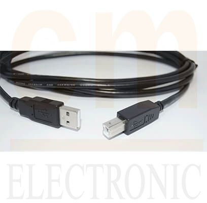 USB (Type A Male/ Type B Male)